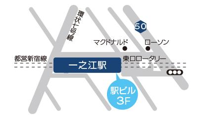 一之江店地図